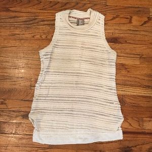 Anthropologie knit mock neck tank